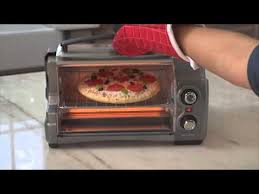Hamilton Beach 6 Slice Convection Toaster Oven Hamilton Beach Easy Reach Toaster Oven 31334 Youtube