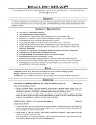 Social Work Resume Samples by Social Work Intern Resume Samples Worker Examples Sample Template