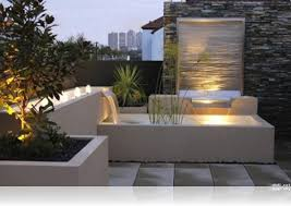 triyae com u003d contemporary backyard waterfalls various design
