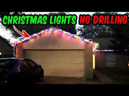 how to install christmas lights how to install christmas lights no holes or nails outdoor wall 2017