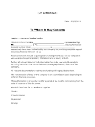 Authorization Letter British Council Download Mhi Authorisation Docshare Tips