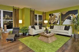 creative painting two tone idea with artistic colors for living