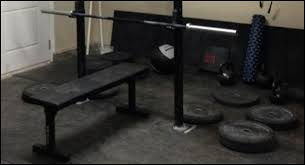 Workout Bench Plans Diy Bumper Plate Storage Projects Garage Gym Organization