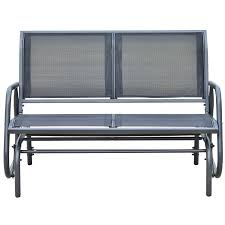 outsunny image on amazing glider bench home depot furniture plans