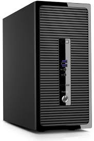 ordinateurs de bureau hp pc hp prodesk 400 g3 intel i5 6500