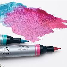 water colour markers winsor u0026 newton