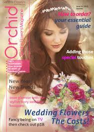 Wedding Flower Magazines - orchid the silk wedding flower magazine from sarah u0027s flowers