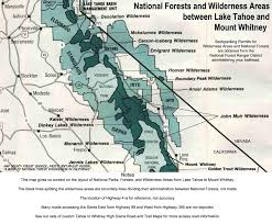 el dorado national forest mokelumne wilderness backpacking permits
