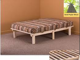 impressive platform twin bed frame xl pine wood intended for