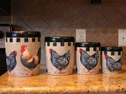 best kitchen canisters ideas southbaynorton interior home kitchen canister sets ceramic rooster