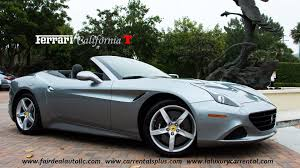 Ferrari California Convertible Gt - 2015 ferrari california t startup and convertible top operation