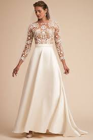 wedding dress with sleeves sleeve wedding dresses cap sleeve bhldn