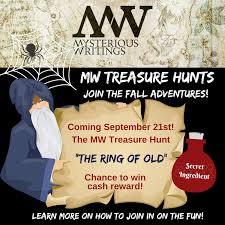 Armchair Treasure Hunt Books Hidden Treasure U2013 Mysterious Writings