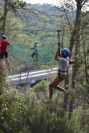 barcelona abseiling adventure park in the trees