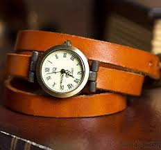 vintage leather bracelet watches images Retro three laps wound leather strap vintage watch bracelet jpg