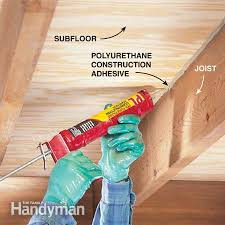 Squeaky Floor Repair How To Repair A Squeaky Floor Basements Ceilings And Household
