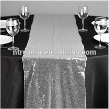 cheap silver sequin dining table runner buy silver table runner