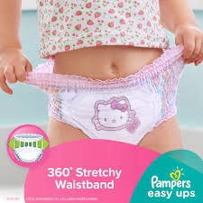 Hello Kitty Bedroom In A Box Pampers Easy Ups Girls Training Pants Choose Pant Size And Count