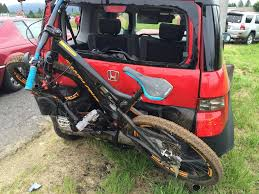 wrecked car wrecked car stolen bronson new nomad mtbr com