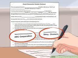 vendor contract agreement 10 vendor agreement templates free