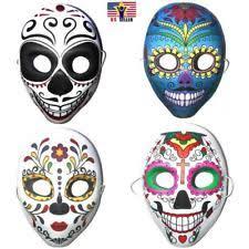 mardi gras skull mask sugar skull mask ebay