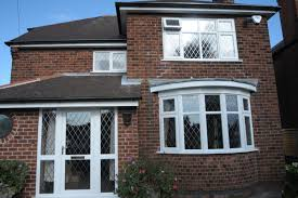 upvc bay widow bay widow white windows