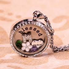 personalized photo lockets personalized floating locket with chain charms 19 99 coupon karma
