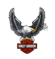 Harley Davidson Baby Bed Set D328064 Harley Davidson Silver Upwing Eagle Large Decal