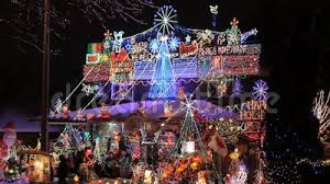decorated houses for christmas beautiful christmas beautiful decorated christmas house in toronto stock footage video