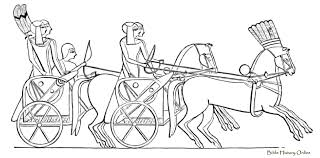 chariot images of ancient means of transport egyptian customs