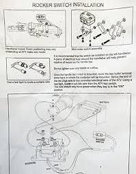 amazon com 12v solenoid relay contactor atv utv truck winch home