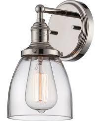 Wall Sconce Lighting Nuvo Lighting 60 5414 Vintage 5 Inch Wide Wall Sconce Capitol