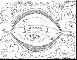 terrific jonah bible story coloring pages with bible coloring