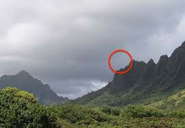 Hawaii mountains images Ufo sightings daily ufo over hawaii mountain top shocks