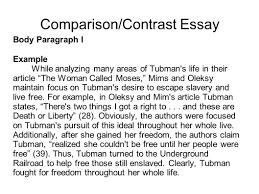 Comparison Essay Example Free Writing Portfolio With Mr Butner Ppt Video Online Download