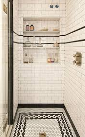 Vintage Bathroom Tile Ideas Colors Best 25 Black White Bathrooms Ideas On Pinterest Classic Style