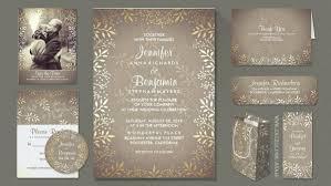 Gold Foil Wedding Invitations Vintage Wedding Wedding Invitations By Jinaiji
