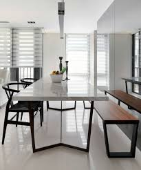 Dining Room Furniture Modern 5 Modern Marble Dining Tables You Will Covet