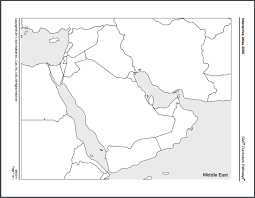 outline map middle east blank map eastern theater of operations civil war trust civil war