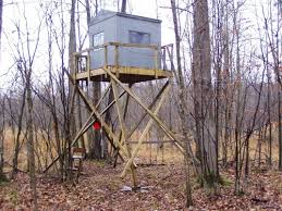 How To Build Hunting Blind Building A Tower Box Deer Blind