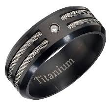 titanium mens rings men ring peaceful jewelry custom