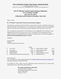 sample family reunion letter invitation free printable