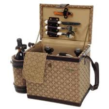 picnic basket for 2 estate chest picnic basket