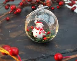 Custom Made Christmas Tree Decorations by Glass Bauble Etsy