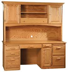 Wood Computer Desks With Hutch by Style Solid Wood Computer Desk Hutch 72 U201dw X 24 U201dd X 30 U201dh