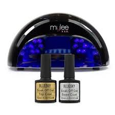 what wattage uv l for gel nails mylee 12 watt led nail l uv nail dryer with bluesky gel polish