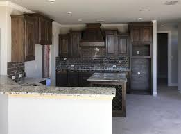 kitchen island construction kitchen with island counter construction stock image