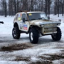 russian military jeep зимний триал клуб