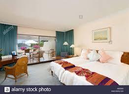 luxury hotel bedroom deluxe room at le royal meridien phuket