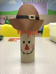 scarecrow toddler halloween craft toilet paper roll